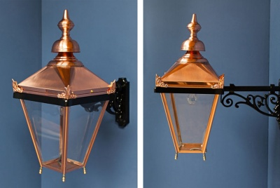 victorian lighting copper