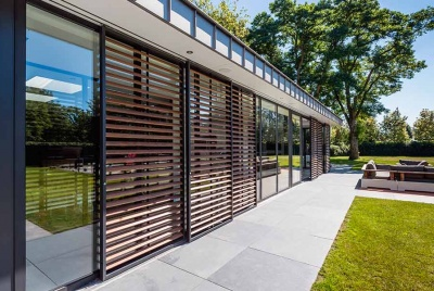 Renson shutters exterior view