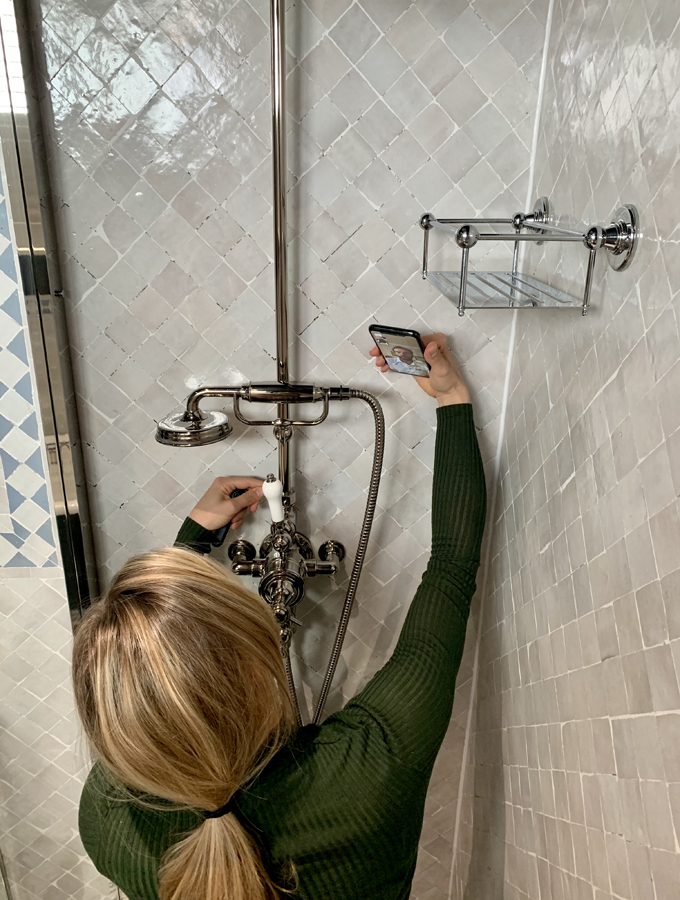DIY fixing a shower
