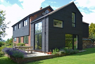 Renovated & extended 1960s detached family home in West Sussex