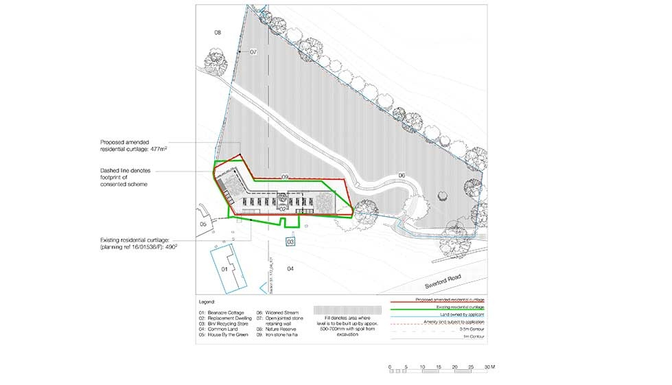 site plan on planning permission application