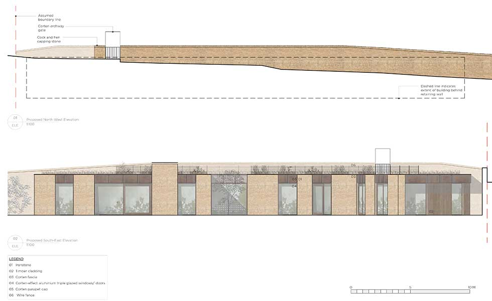 planning permission application land visual impact assessment