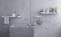 bathroom discount centre taps concrete