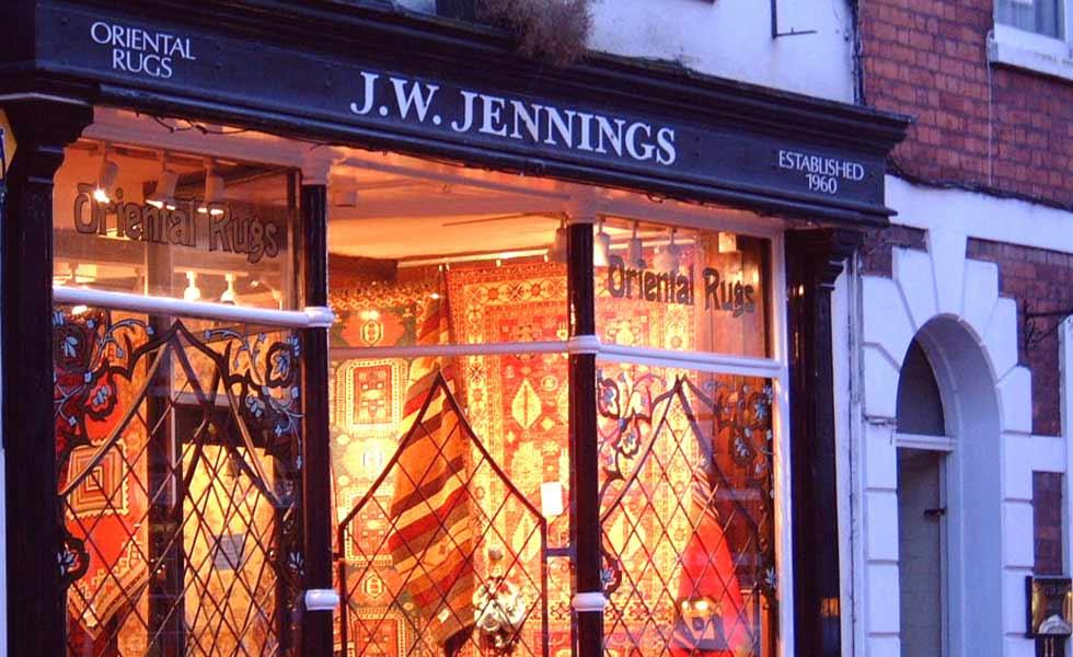 Jennings shop front