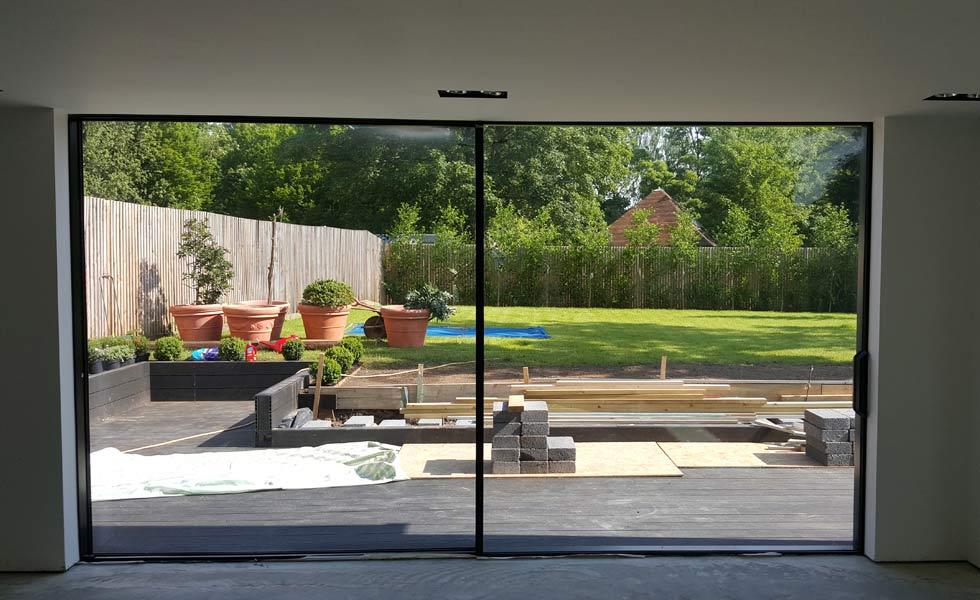 livingwood sliding door large glazing