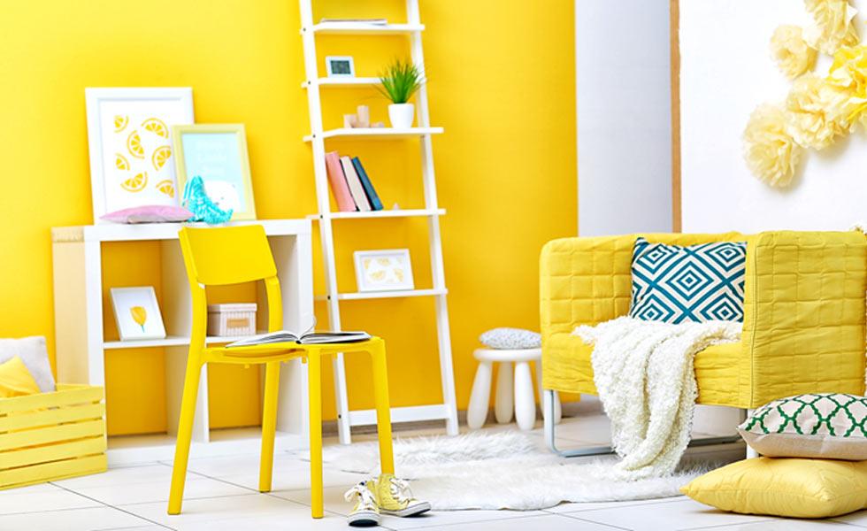 Sputnik matt paint bikini yellow