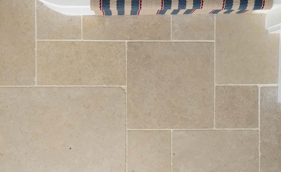 floors of stone Dijon Tumbled Limestone