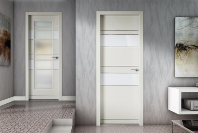 Fire doors grey