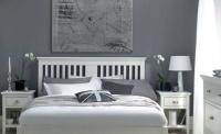 headboards.uk wooden headboard white grey wall