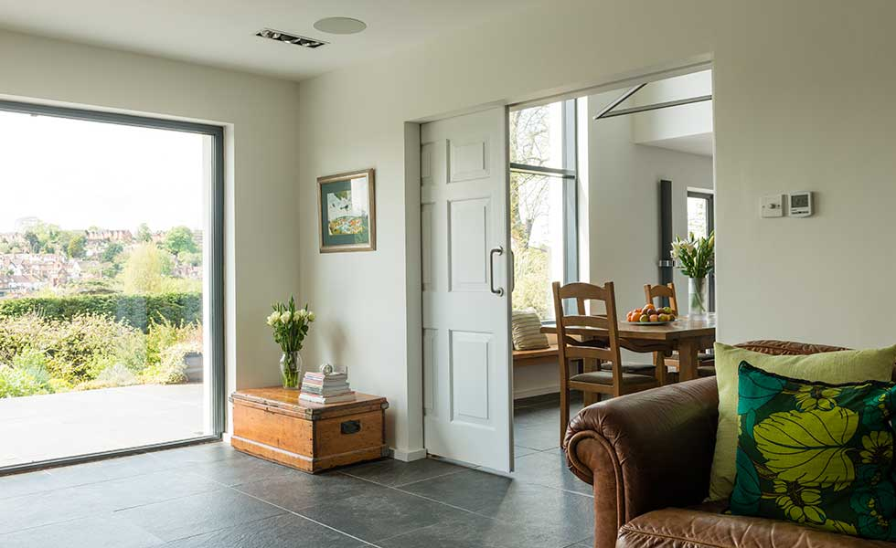 Sliding Door In An Extension
