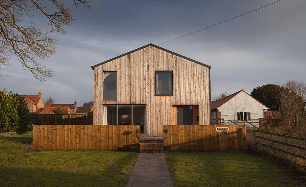 budget starter home exterior yorkshire