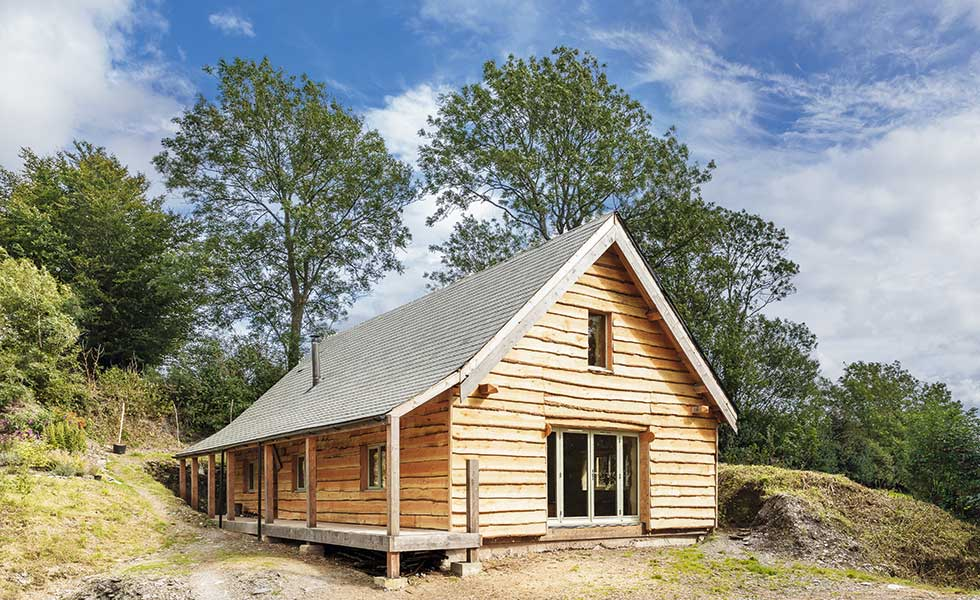 straw bale self build on a budget
