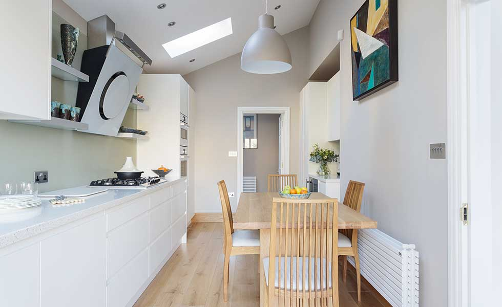 Merveilleux Garage Conversion Into Kitchen Diner