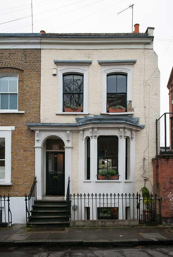 Renovated terraced house