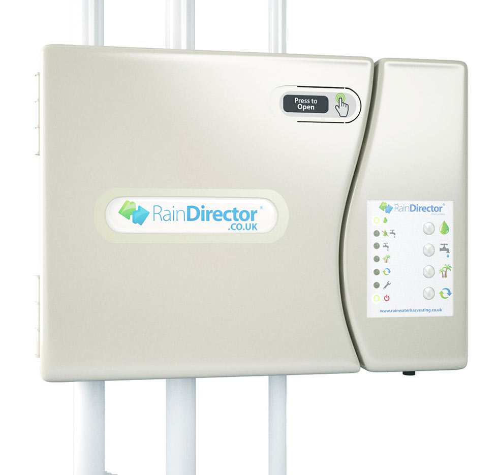 Rainwater director system