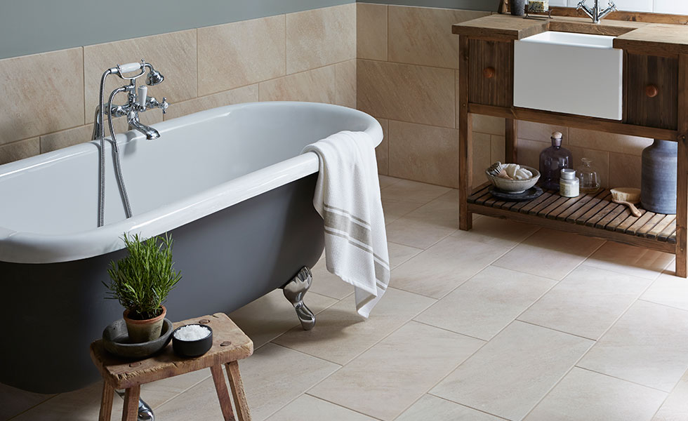 porcelain bathroom tile