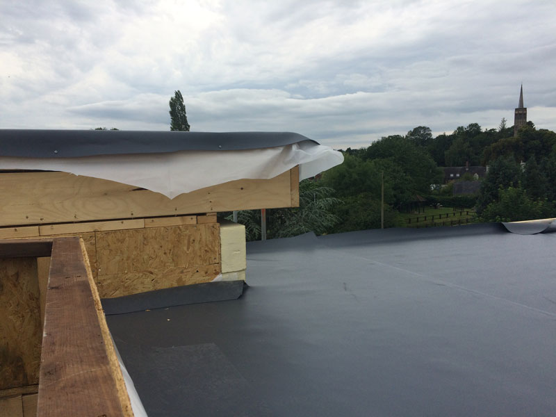 roof covering Sarnafil membrane