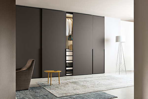 iq furniture Ghost Hinged Door Wardrobe