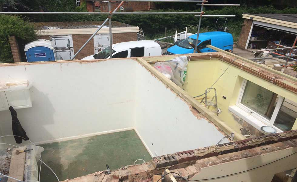 A New Replacement Flat Roof Homebuilding Amp Renovating