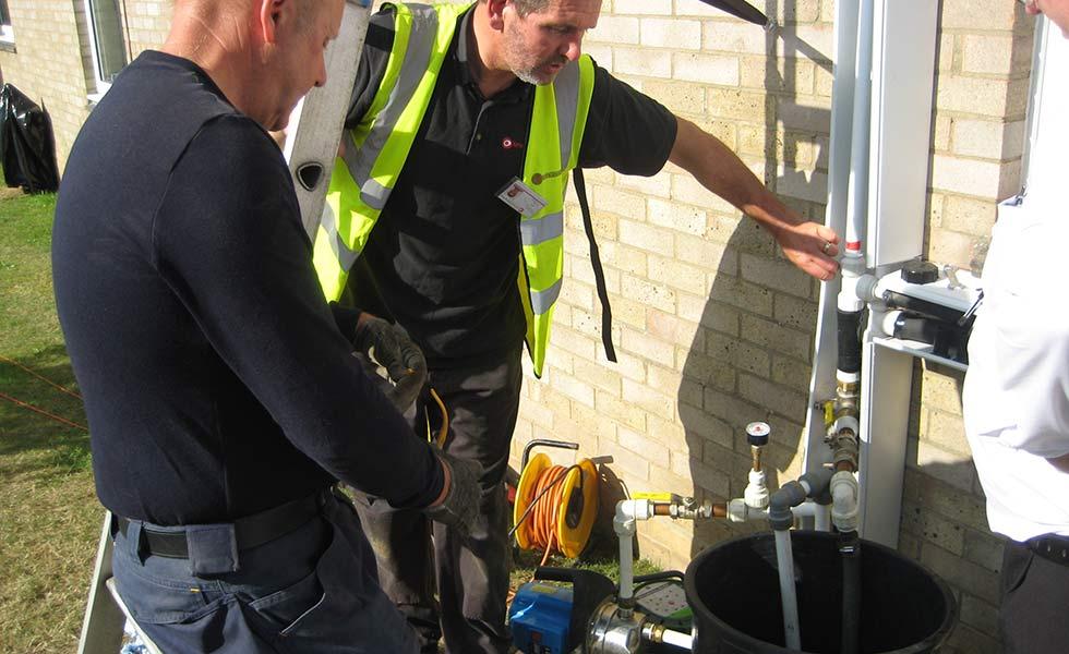 kensa heat pumps installation