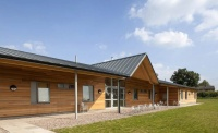 SIPS Clays LLP Laches community centre exterior