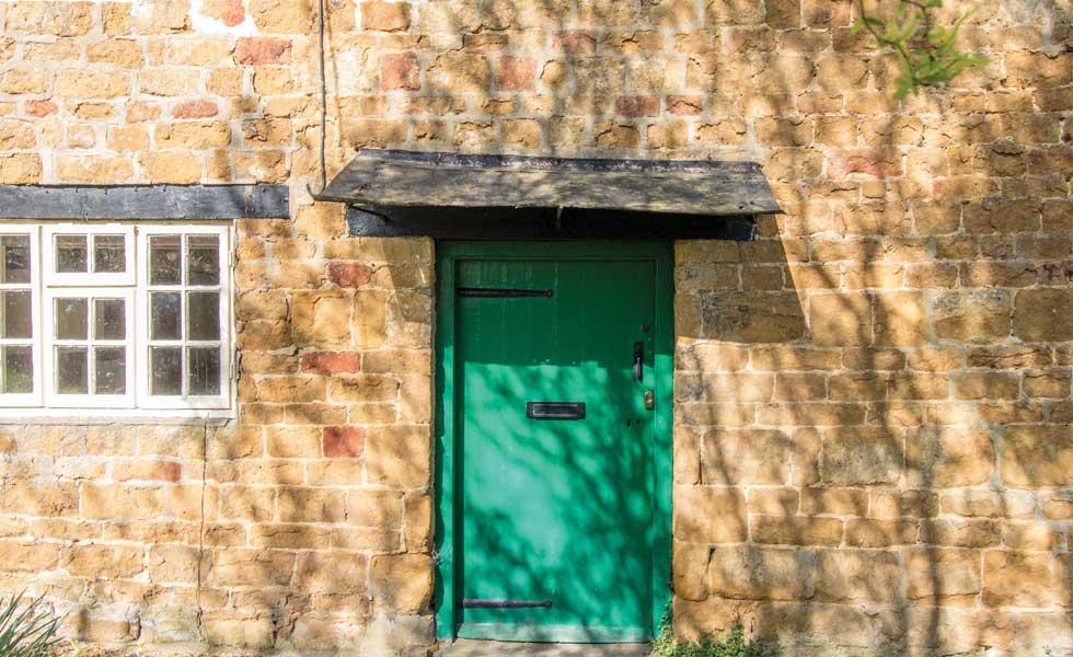 Mabel's front door will have an original door knocker restored