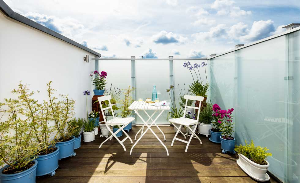 The South Facing Roof Terrace Enjoys Sun For Most Of The Day. On Warmer  Days, When The Bi Fold Doors (from Creative Doors Direct) Are Pushed Back,  ...