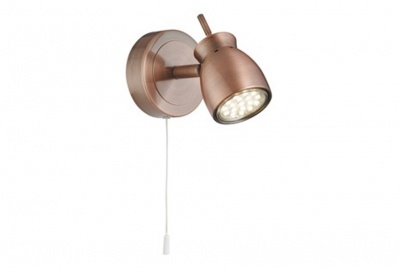 azad electrical 1 light Spot light in Copper with 3w GU10
