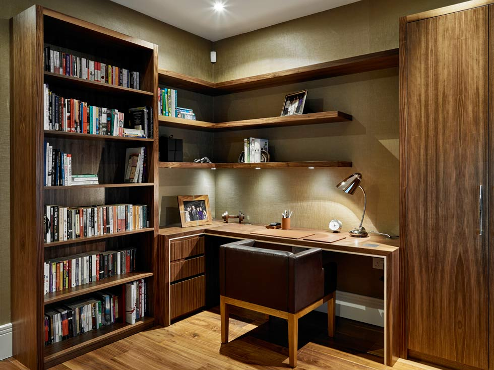 traditional style home office