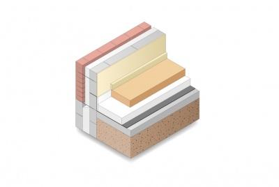 EPS Floor insulation below screed