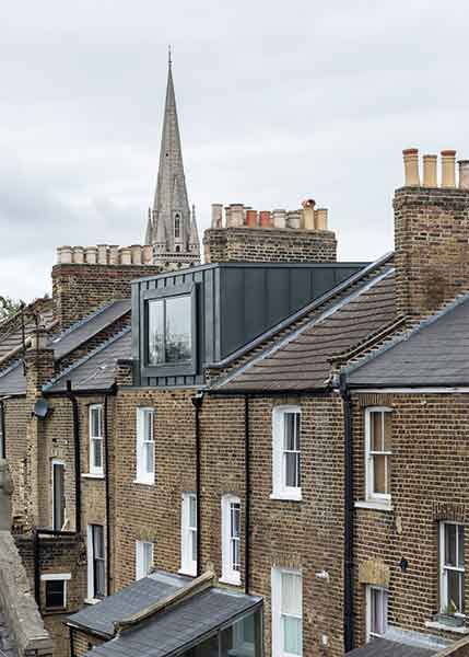 A loft conversion to a Victorian terrace in London makes better use of the space above