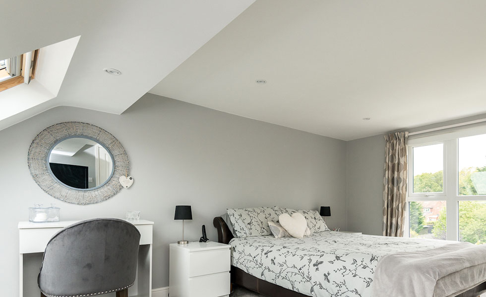 This loft conversion by Econoloft has provided one family home with additional bedroom accommodation