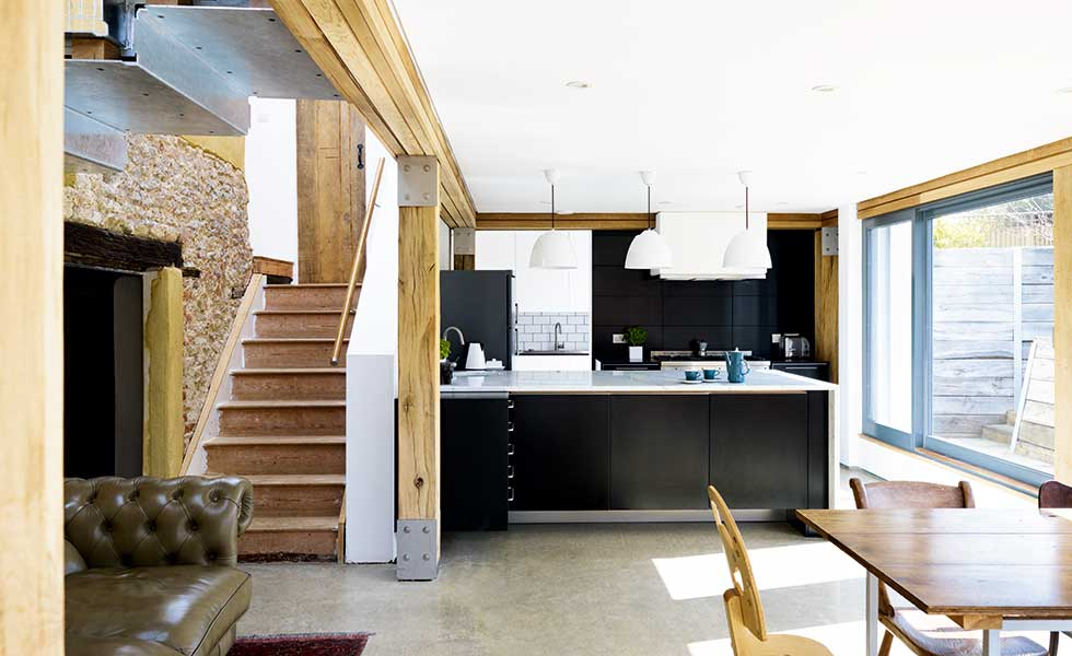 Contemporary renovation project