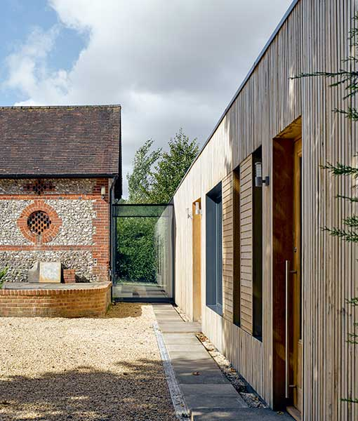 Period house with contemporary extension
