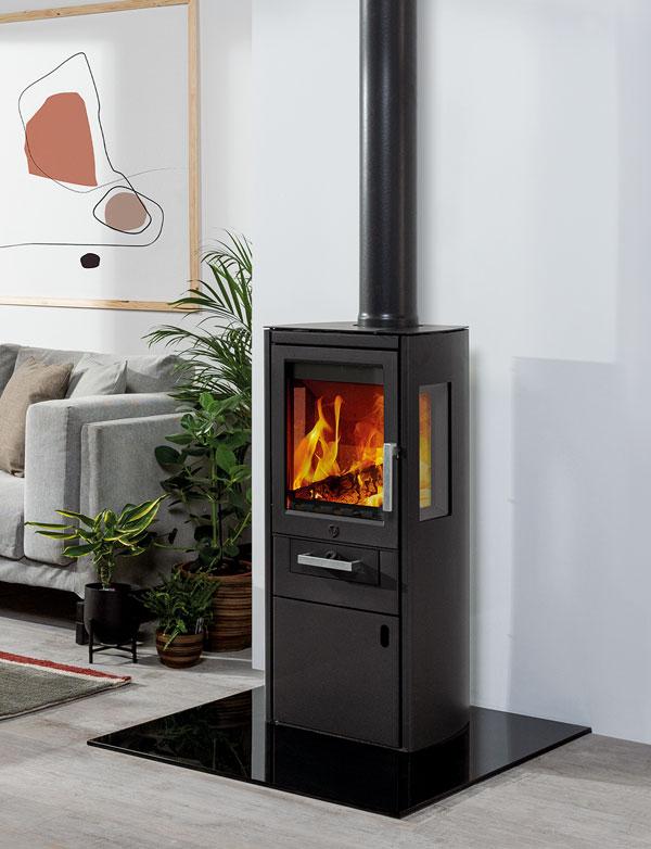 Varde's Bornholm woodburning stove