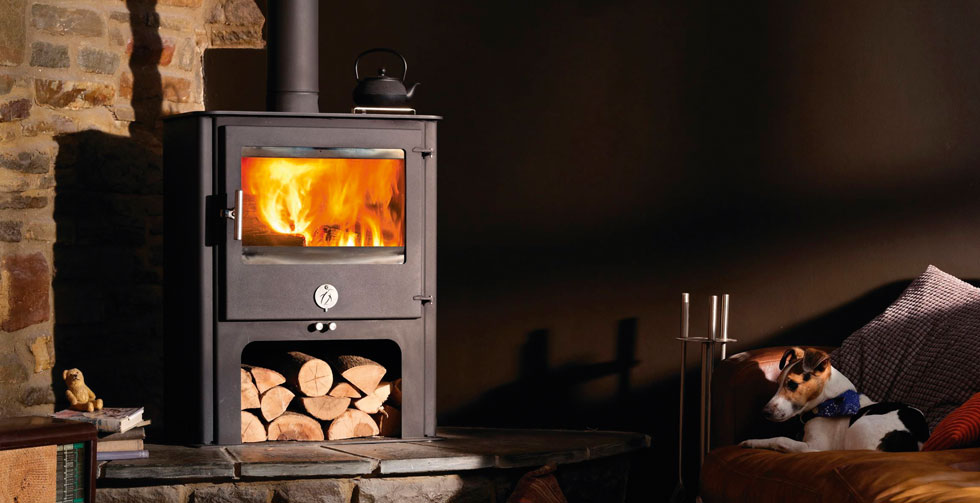 Chilli Penguin Chubby 8 woodburning stove