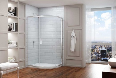 series 8 offset quadrant shower enclosure