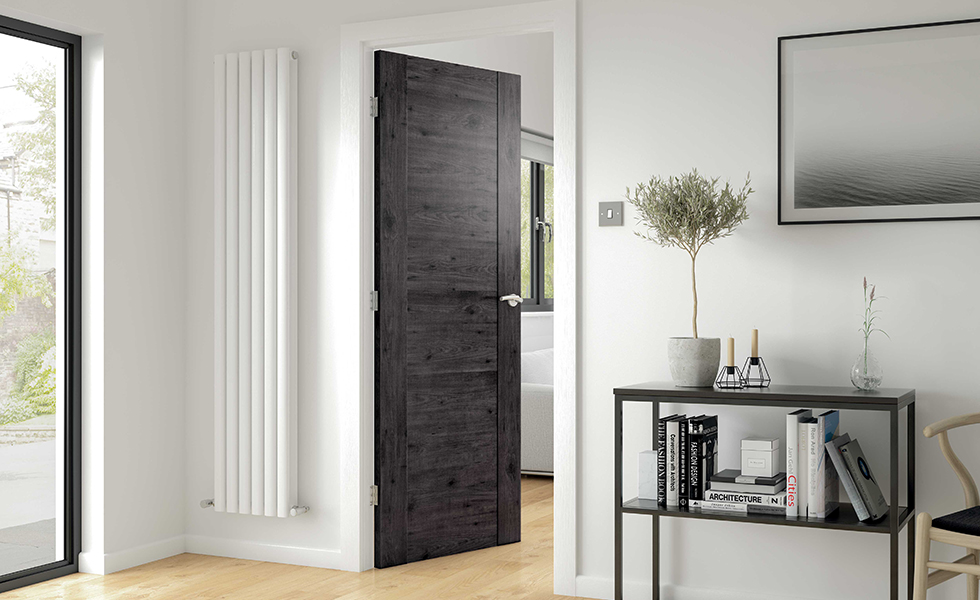 laminate internal door black wood design