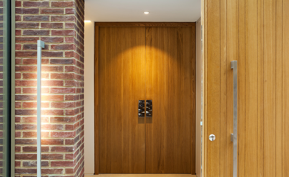wooden internal doors contemporary style