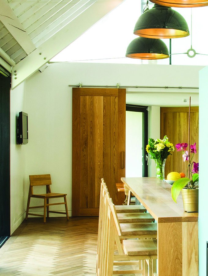 barn style sliding door wood