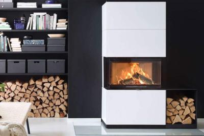 contura white rectangle stove