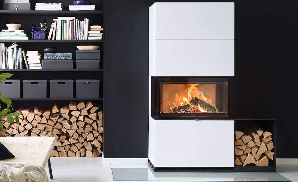 contura white rectangle stove