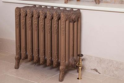 carron turin bronze cast iron radiator