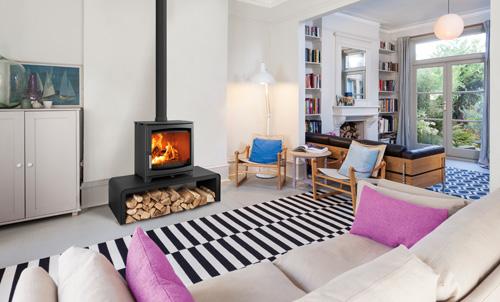 The Aspect wood burner range from Hunter Stoves