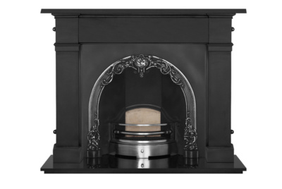 The Cherub Cast Iron Fireplace