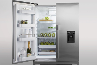 fisher paykel double fridge]