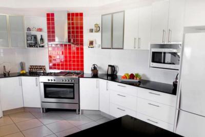 White Kitchen Sinks in bathroom - Buildup London