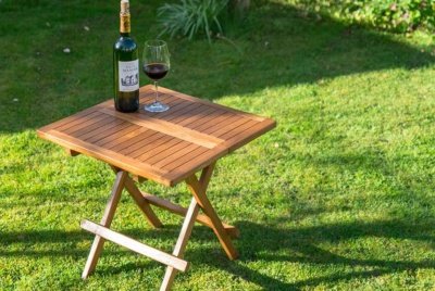 Treatex Teak table with Teak protection