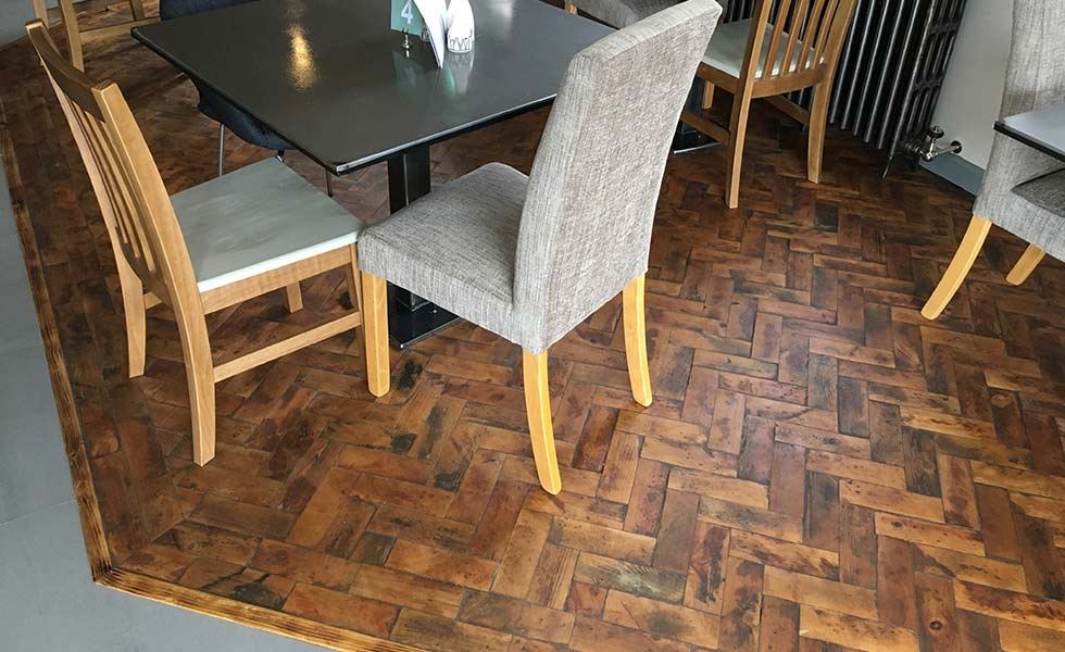 treatex Block Parquet Floor with Matt Hardwax Oil