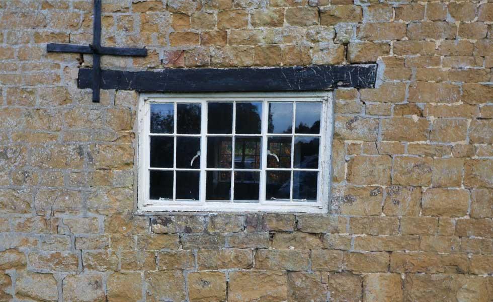 external wall in need of repair